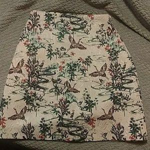 Oriental inspired skirt